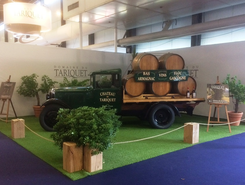 Vinexpo 2017 stand Tariquet